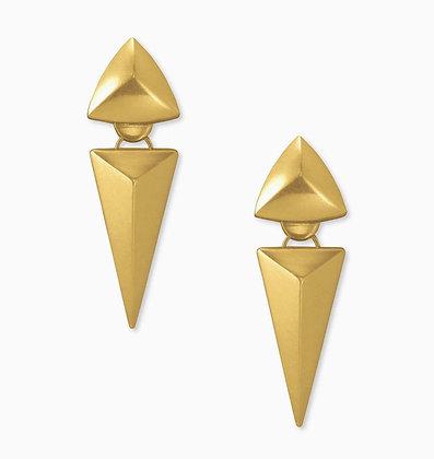 Kendra Scott Vivian earring gold