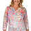 Thumbnail: FDJ  Floral Burst Notch Knit Top