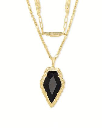 Kendra Scott Tessa Gold Multi Strand Necklace