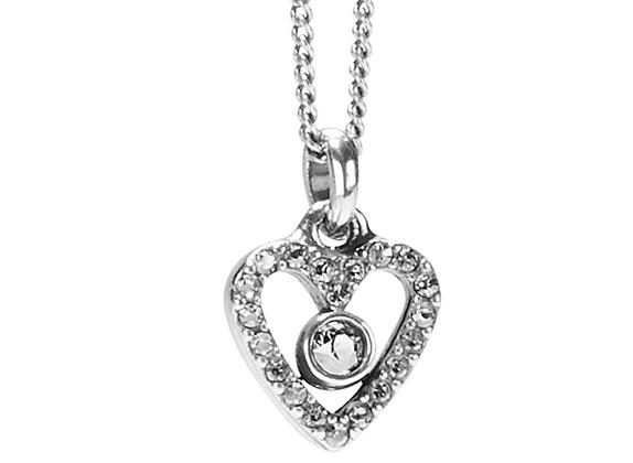 BRIGHTON Illumina Love Mini Necklace