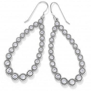 BRIGHTON Twinkle Splendor Teardrop French Wire Earrings