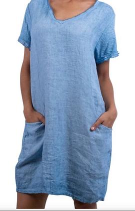 PERLA LINEN DRESS