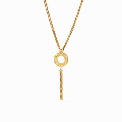 Julie Vos Olympia Tassel Necklace