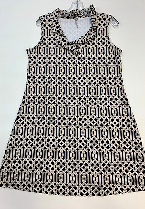 LuLu B Ruffle Neck Dress
