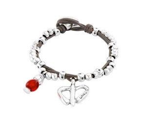 Uno de 50 Free Hearts Bracelet