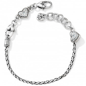 BRIGHTON Heart Slide Bracelet