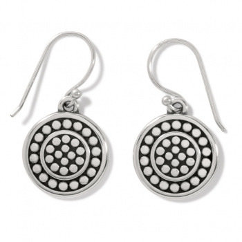 BRIGHTON Pebble Round Reversible French Wire Earrings
