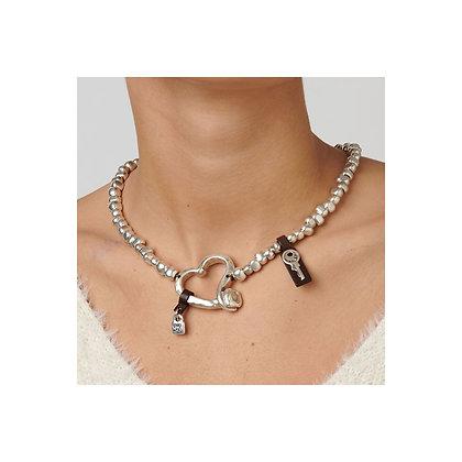 Uno de 50 Heart felt necklace