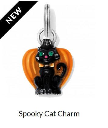 Brighton spooky cat charm