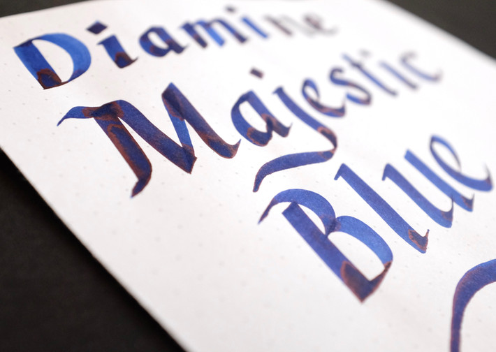 Review: Diamine Majestic Blue