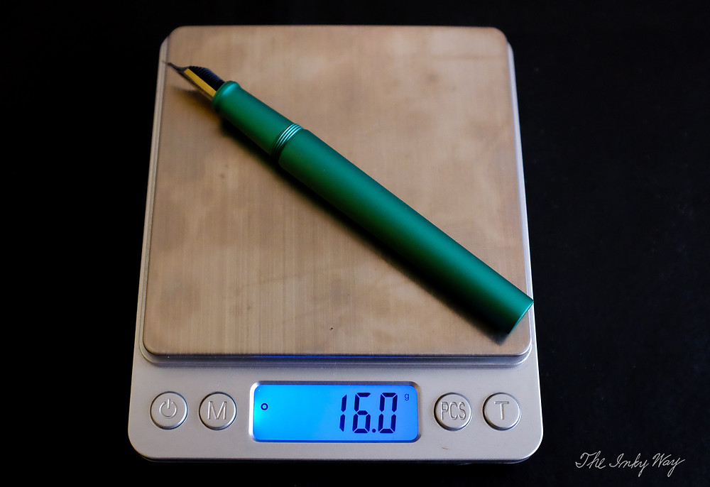 PenBBS 350 weight uncapped