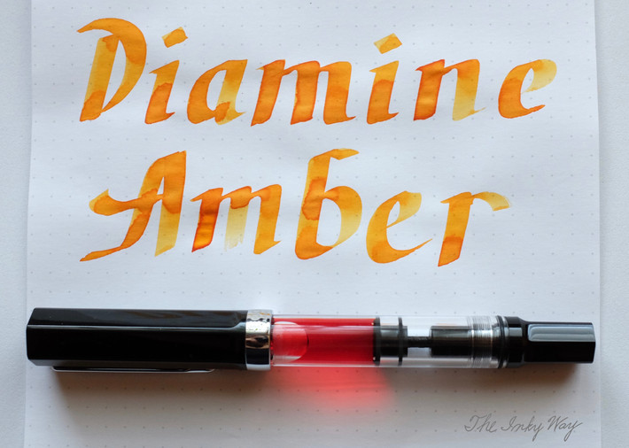Review: Diamine Amber