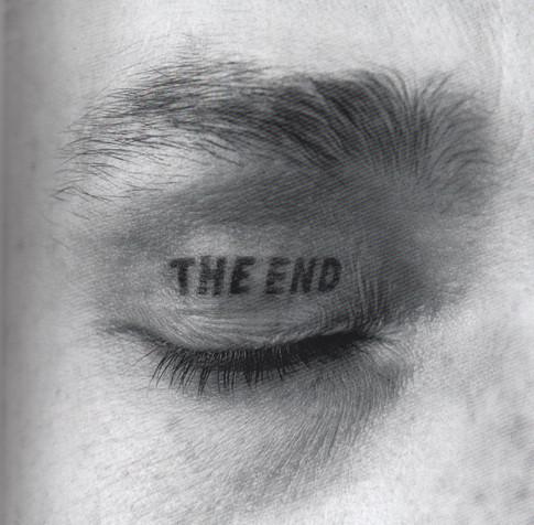 THE END, Tätowierung, 1970.