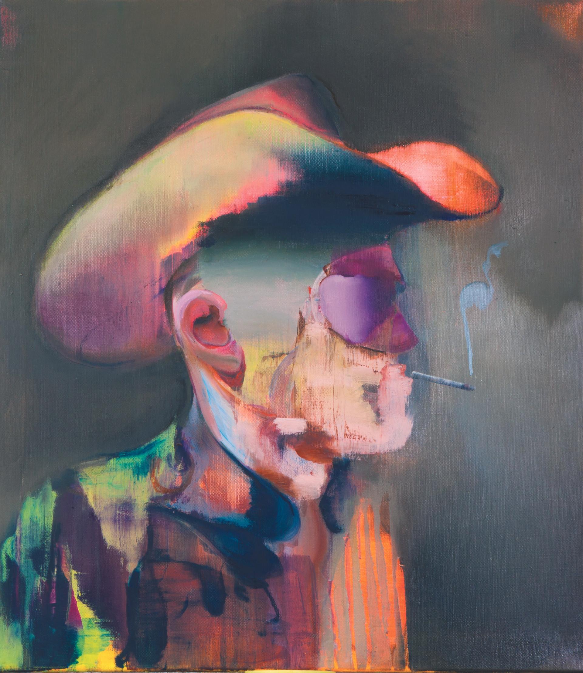 Hans-Ferdinand, 80 x 70 cm, oil on linen, 2019