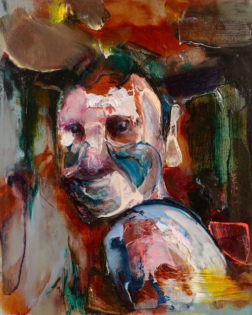 Thyr, 50 x 40 cm, oil on linen, 2016