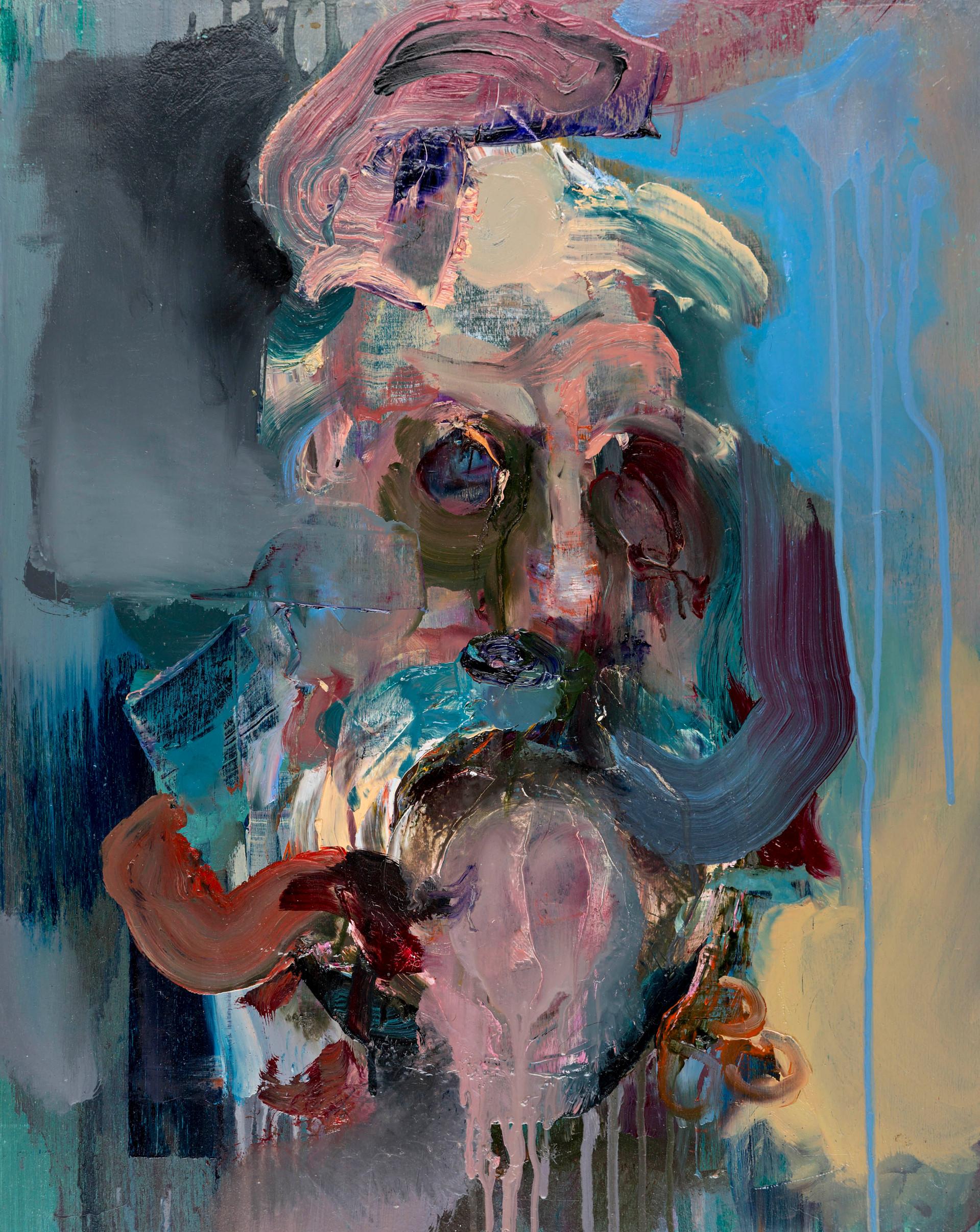 Robur, 50 x 40 cm, oil on wood, 2016
