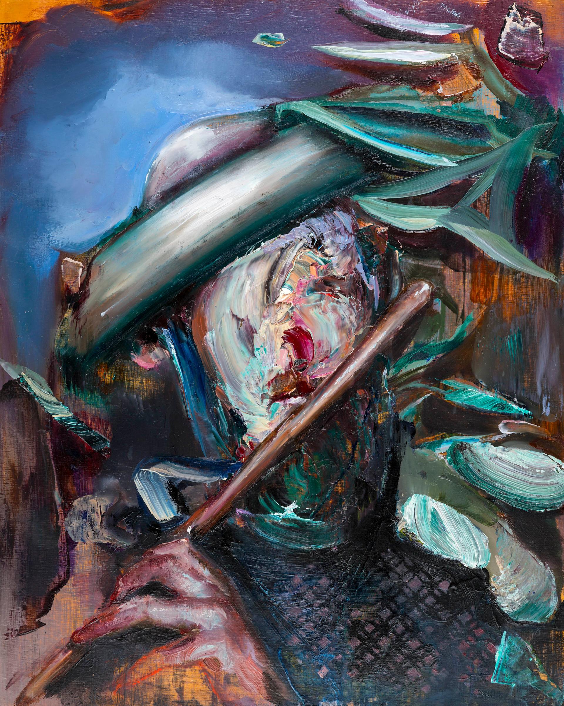 Blower, 50 x 40 cm, oil on linen, 2016