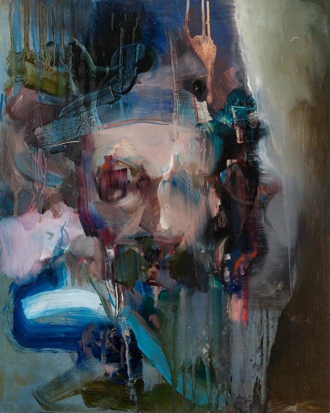 Odin, 50 x 40 cm, oil on linen, 2016