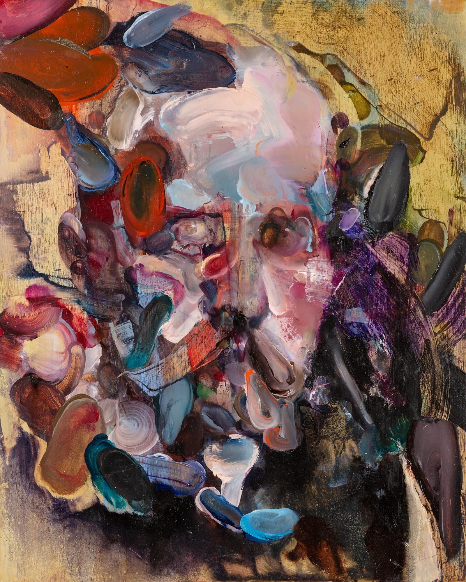 Aspar, 50 x 40 cm, oil on linen, 2016