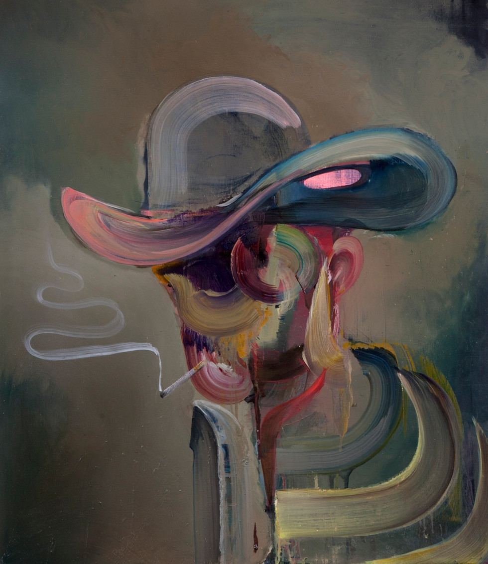 Hans-Georg, 80 x 70 cm, oil on linen, 2019