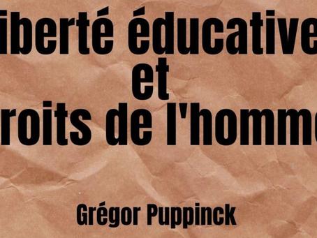 Liberté éducative et droits de l'homme