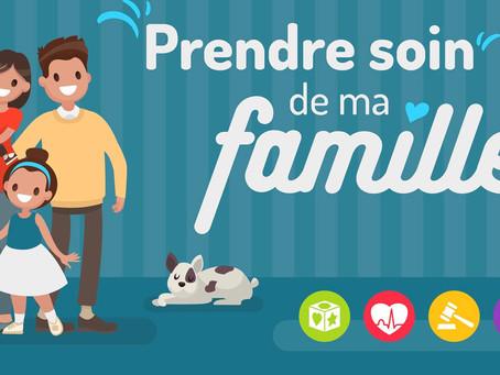 UNAF - Un compte facebook « Prendre soin de ma famille »