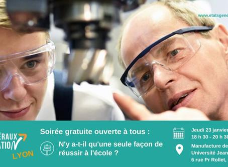 Les Etats Généraux de l'Education font étape à Lyon !