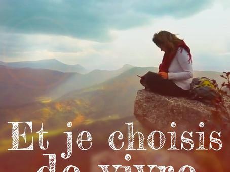 """FILM """"ET JE CHOISIS DE VIVRE"""" En salle 21 mai 2019"""