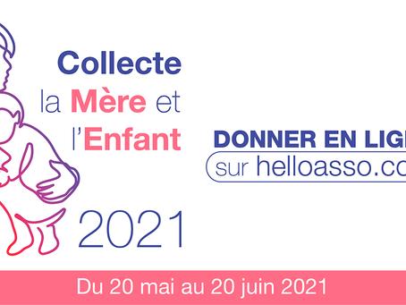 """Collecte  """"La Mère et l'Enfant"""" 2021"""