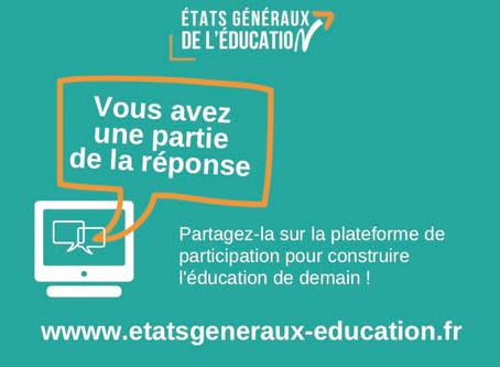 Les Etats Généraux de l'Education feront étape à Bordeaux !