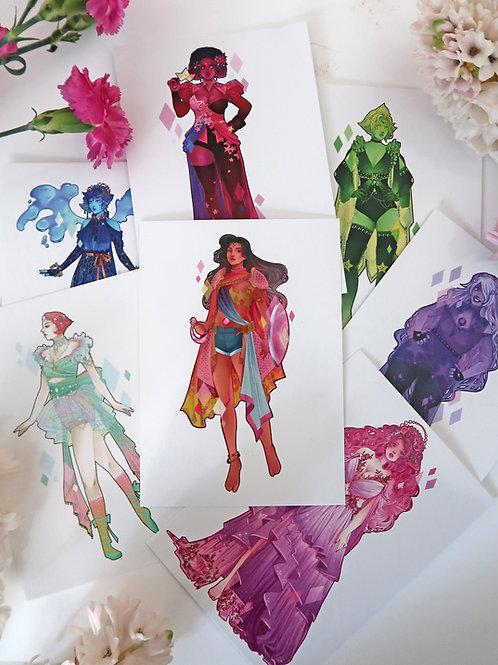 Steven Universe Postcards