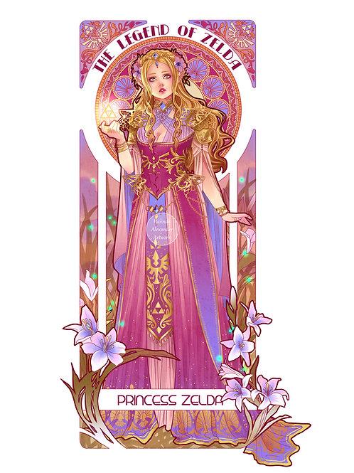 A3 Prints: Link and Zelda