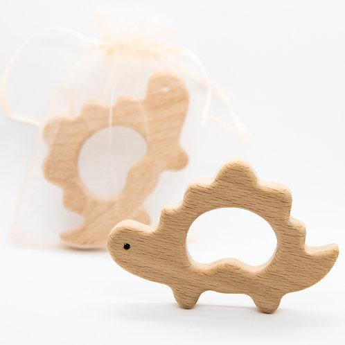 Dinosaur Wooden Teether