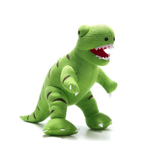 Large T Rex Knitted Dinosaur