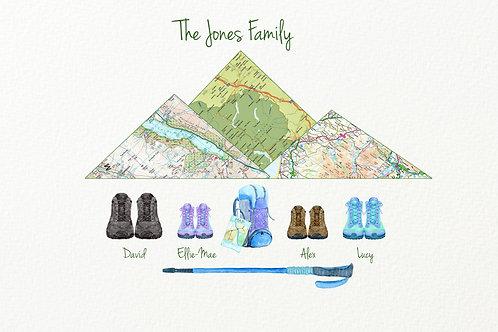 Family Hiking Design