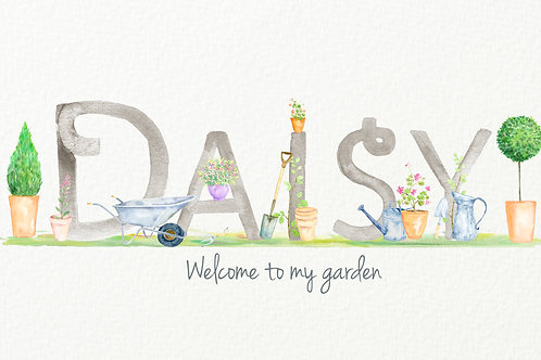 Gardening Themed Design