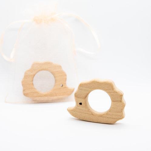 Hedgehog Wooden Teether