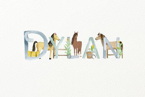 Horse Themed Design