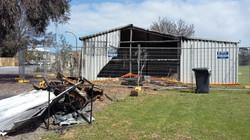 2016 fire damage