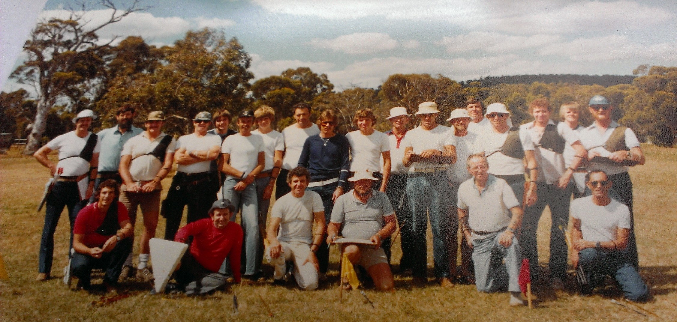 Early days of Gosnells Archers - 80s