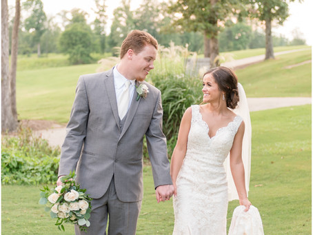 Destiny & Dalton | Golf Course Wedding