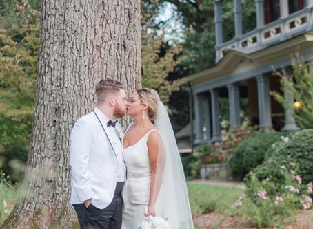 Katie + Hunter     Glam Georgia Wedding
