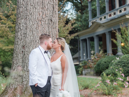 Katie + Hunter  |  Glam Georgia Wedding