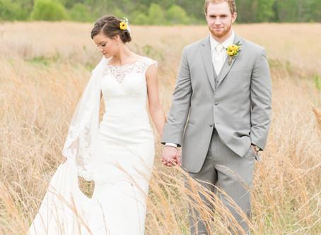 Kristen & Jerrod     Romantic Farm Wedding