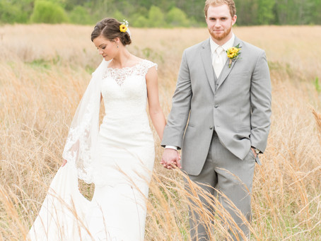 Kristen & Jerrod  |  Romantic Farm Wedding