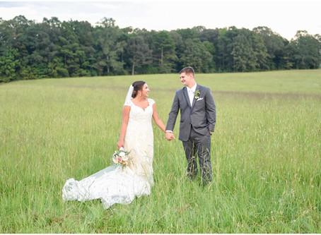 Courtney & Matthew   Military Farm Wedding
