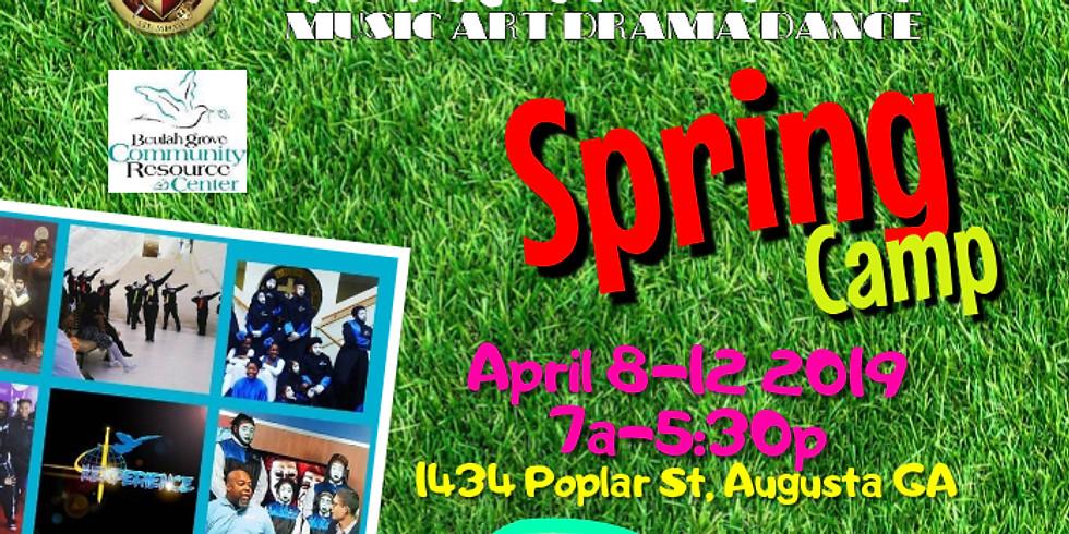 M.A.D.D. (Music, Art, Drama, Dance) Spring Break Camp
