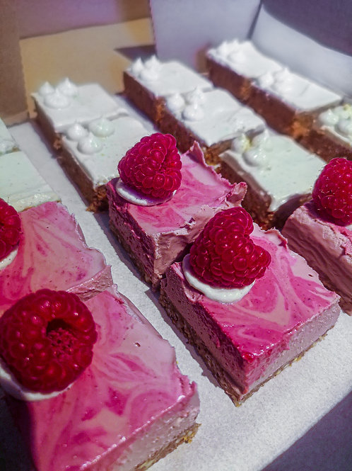 Lion's Mane, Cashew & Berry Cream Slices (London Collection Only)