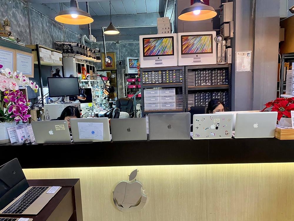 รับซ่อม macbook ทุกอาการ