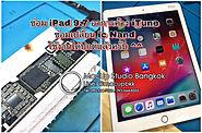 iPad 9.7 มีอาการเปิดเครื่องแล้วค้าง iTune ทางร้าน Macup Studio ได้ตรวจเช็คและได้ทำการซ่อม ด้วยวิธีการเปลี่ยน iC Nand จน iPad 9.7 ของลูกค้า กลับมาใช้งานได้ปกติแล้วครับ MacUp Studio ศูนย์ซ่อมผลิตภัณฑ์แอปเปิ้ล ติดต่อเรา MacUp Studio ได้ทั้ง 2 สาขา สาขาขอนแก่น line : @macup = http://bit.do/linemacup โทร : 0956565090 . สาขากรุงเทพ inbox :m.me/MacUpStudioBangkok line : @macupbkk = http://bit.do/linemacupbkk โทร : 0909647666 MacUp Studio ศูนย์ซ่อมผลิตภัณฑ์แอปเปิ้ล ประสบการณ์ซ่อมมากกว่า 20 ปี ซ่อมถูกกว่า ซ่อมดีมีมาตรฐาน ซ่อมด่วน รอรับได้ มีความรู้ความชำนาญงานระดับอาจารย์สอนซ่อม เครื่องมือซ่อมทันสมัย บริการมาตรฐานสากล ตรวจเช็คทุกอาการ ฟรี!!!แจ้งราคาก่อนซ่อม